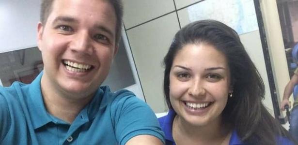 Giovane e Isabella trabalhavam na RBS juntos