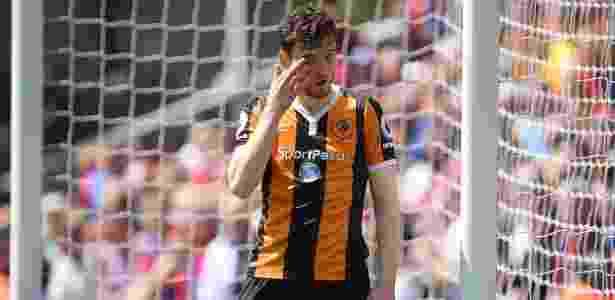Andrew Robertson em ação pelo Hull City; jogador deve reforçar o Liverpool - Toby Melville/Reuters