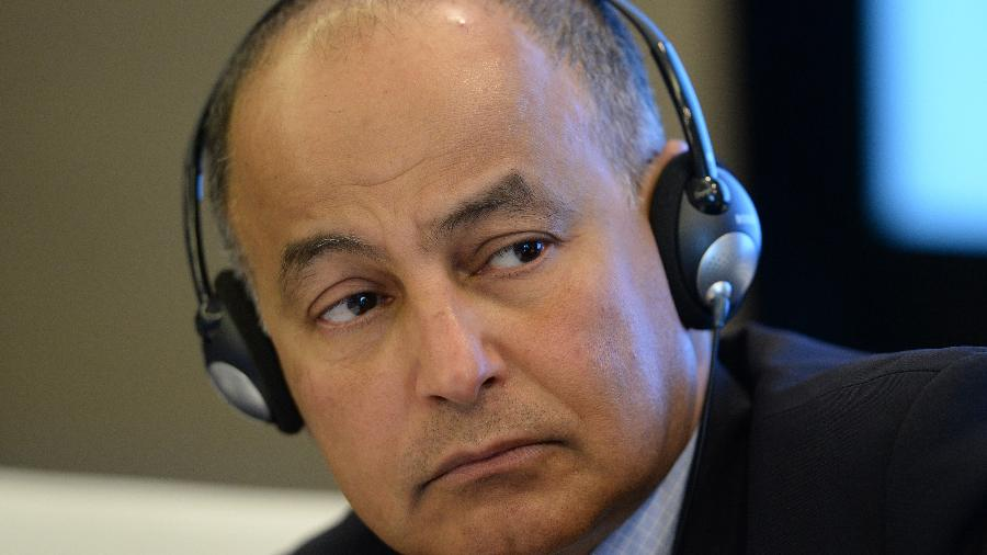 Husain Al-Musallam, vice-presidente da FINA - Mark Runnacles/Getty Images