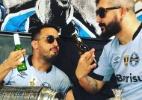 Pesquisão: Jogadores admitem que fumam e bebem, mas são minoria - Reprodução Instagram