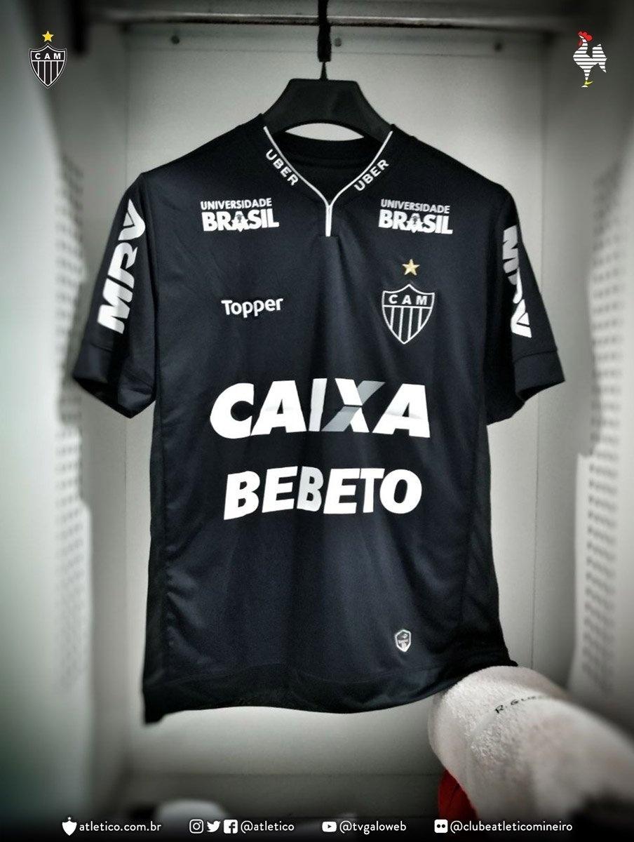 05d5249ac Camisa preta e nome no peito. As homenagens do Atlético a Bebeto de Freitas  - 14 03 2018 - UOL Esporte