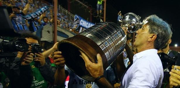 Campeão da Libertadores, Renato Gaúcho é o sonho de consumo do Flamengo