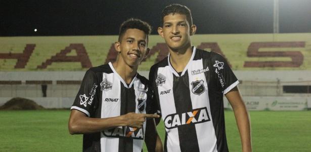 Fessin, à esquerda, é meio-campista e atuou ao lado de Matheus Matias no ABC