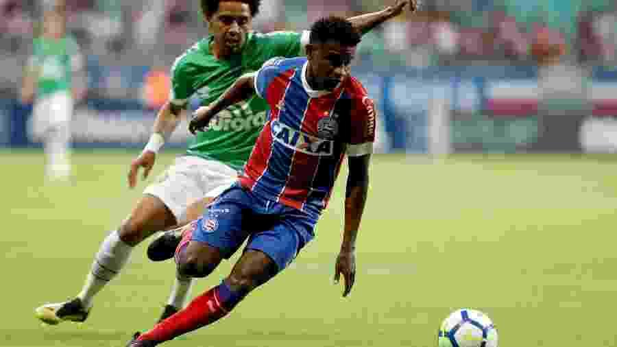 Ramires subiu para o profissional do Bahia no ano passado - Felipe Oliveira / EC Bahia