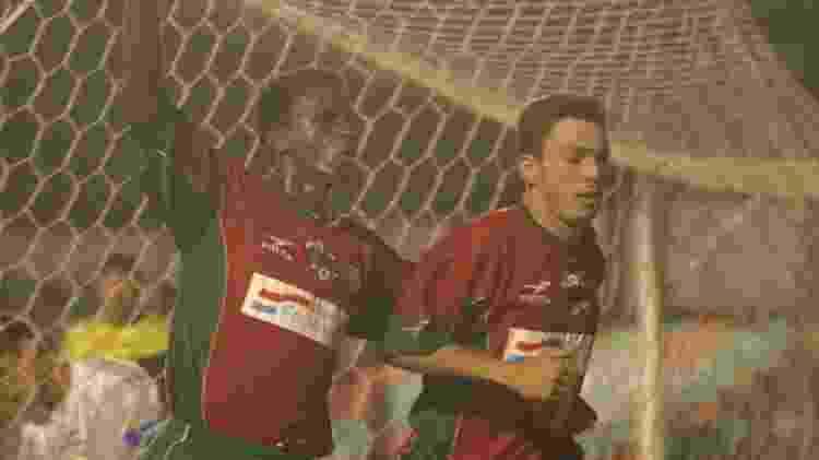 Capitão e Alex Alves - José Patrício/Folhapress - José Patrício/Folhapress