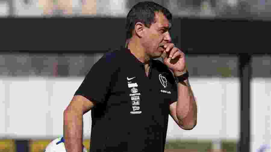 Após vários obstáculos, Carille tem o enorme desafio de tornar Corinthians menos previsível - Daniel Augusto Jr/Ag. Corinthians