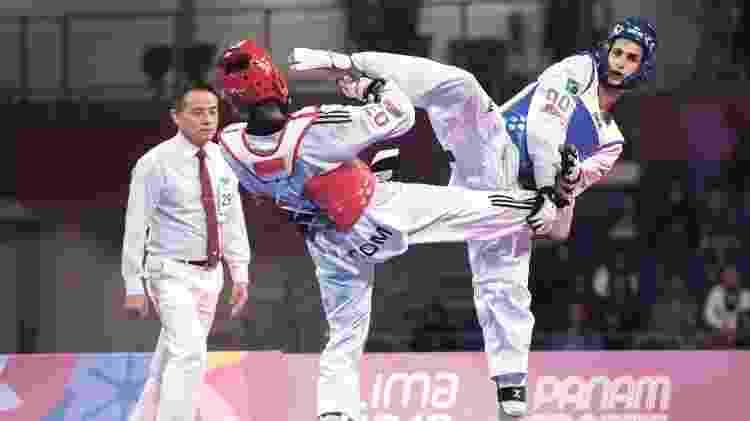 A seleção do taekwondo, do promissor Netinho, é administrada por funcionária do COB - Jonne Roriz/COB