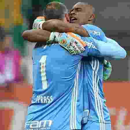 Prass e Jailson podem não jogar juntos em 2020 - Cesar Greco/Ag. Palmeiras/Divulgação