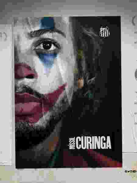 Marinho virou o Coringa em paródio do Santos antes do Oscar - Divulgação/Santos
