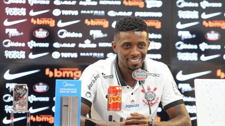 Jonathan Cafú teve passagem apagada pelo Corinthians - Rodrigo Coca/Agência Corinthians