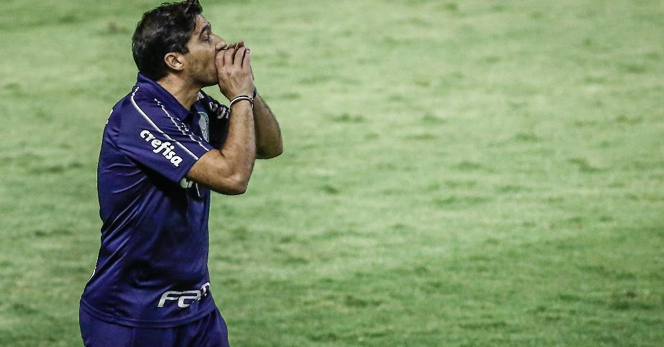 Abel Ferreira comanda time do Palmeiras na Ilha do Retiro
