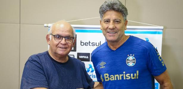 Grêmio anuncia renovação com Renato Gaúcho até o final de 2021