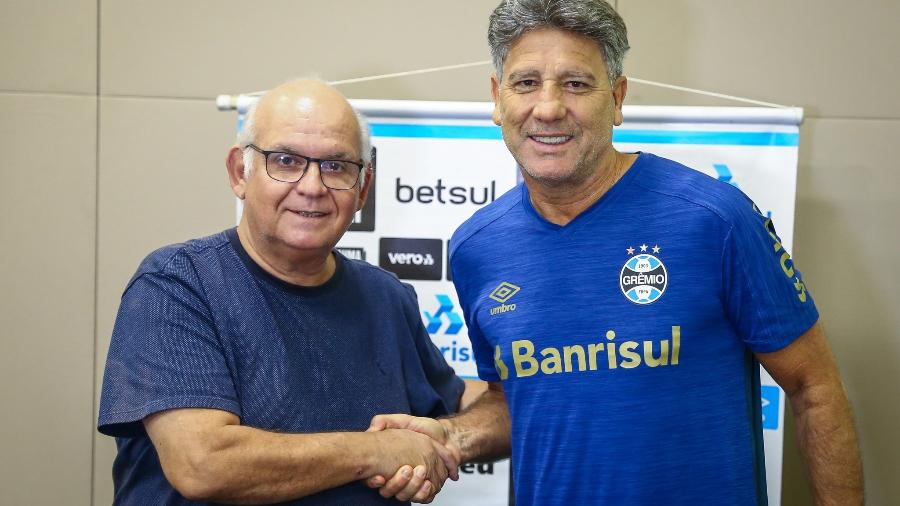 Grêmio renova contrato com Renato Gaúcho até o final da temporada de 2021 - Lucas Uebel / Grêmio FBPA