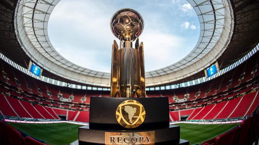 Troféu da Recopa Sul-Americana de 2021 - Divulgação