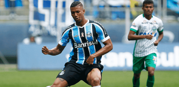 Grêmio detém 60% dos direitos econômicos do volante Walace, 21 anos - Lucas Uebel/Divulgação/Grêmio