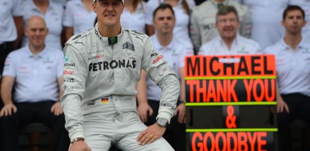 Os três anos de Schumacher após sua primeira aposentadoria estiveram longe de ser um sucesso - YASUYOSHI CHIBA-25.nov.2012/AFP