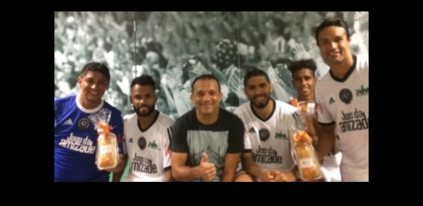 Jardel participa de partida beneficente organizada por Wesley Safadão, no Ceará - Reprodução/Instagram/PedroIarley