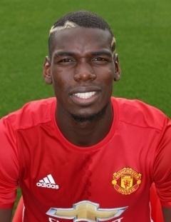 Paul Pogba, meia do Manchester United