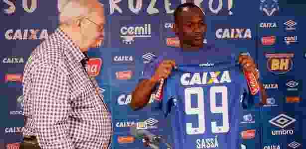 Atacante vai vestir a camisa de número 99 no Cruzeiro - Alisson Guimarães/Cruzeiro