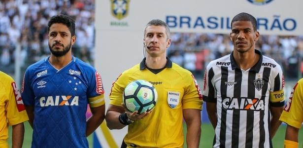 Capitães do Atlético-MG, Leonardo Silva usa a velha máxima de que clássico não tem favorito