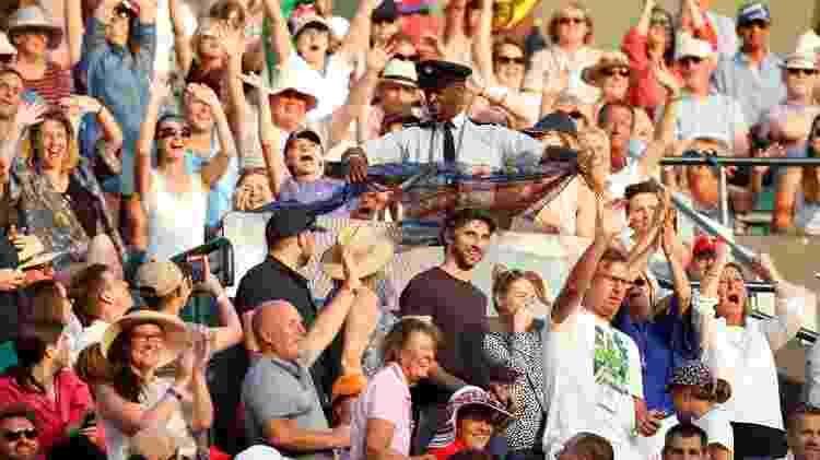 Segurança de Wimbledon coloca toalhas em placa de aço para evitar reflexo - REUTERS/Matthew Childs - REUTERS/Matthew Childs