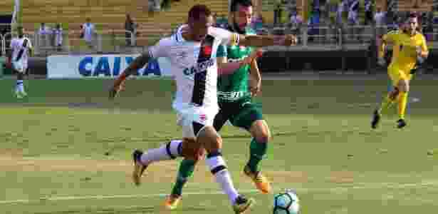 Luis Fabiano retornou ao Vasco no empate com o Palmeiras - Carlos Gregório Jr/Vasco.com.br