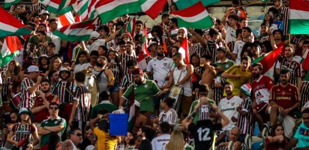 Torcida do Fluminense estará de volta ao Maracanã no próximo domingo