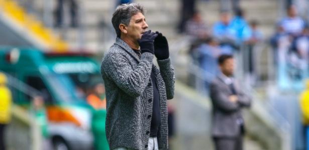 Renato Gaúcho pode mudar planos do Grêmio para o Campeonato Brasileiro - Lucas Uebel/Gremio FBPA/Divulgação