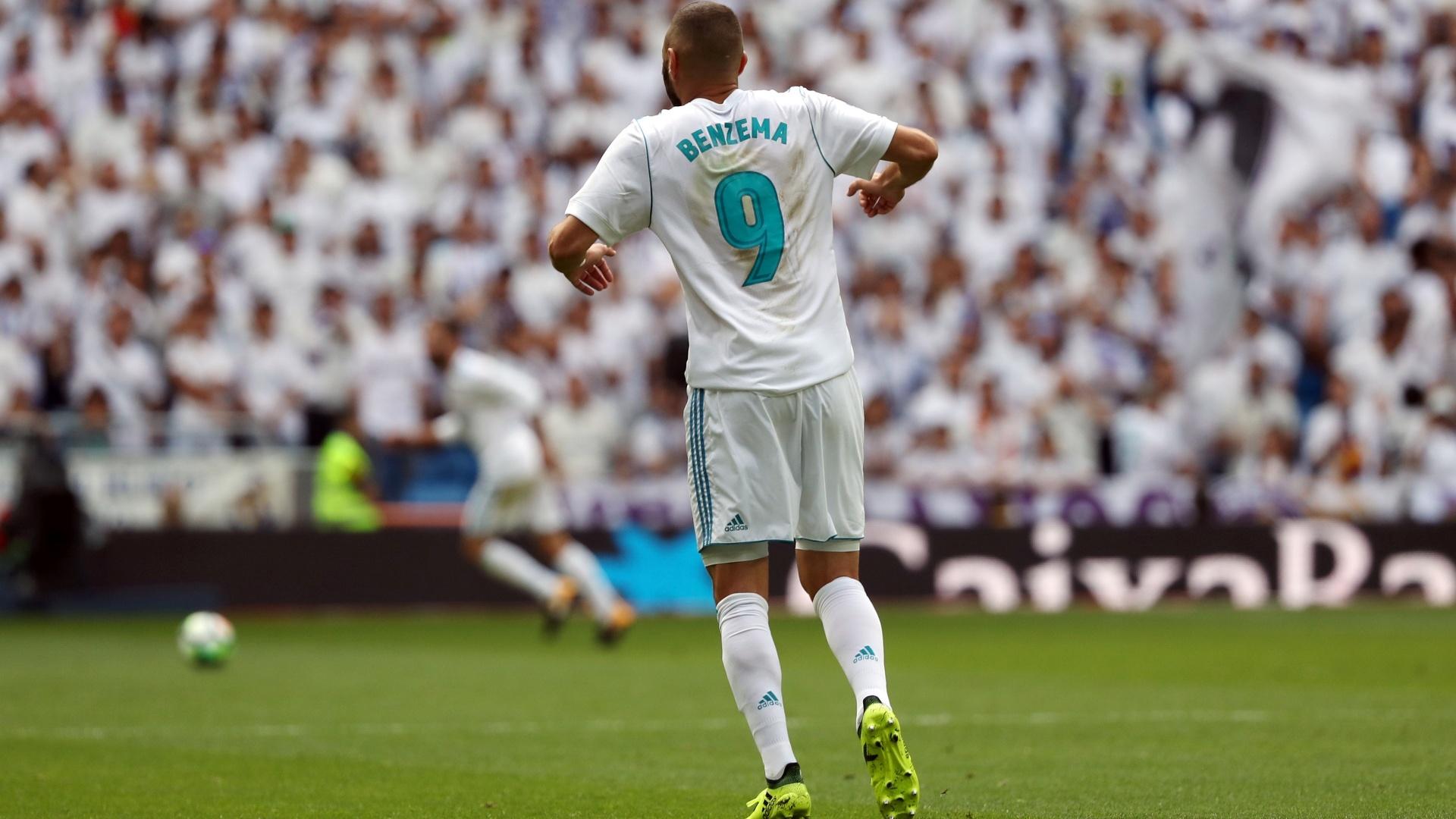 Benzema foi substituído ainda no primeiro tempo contra o Levante
