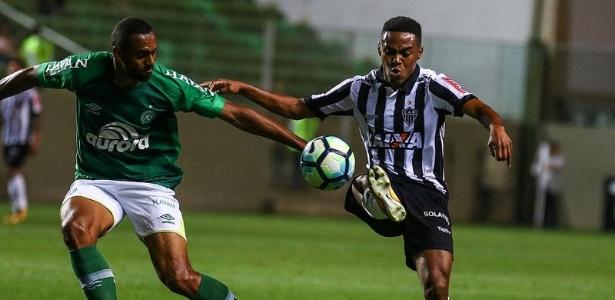 Expulso contra a Chapecoense, Elias foi xingado pela torcida do Atlético-MG - Bruno Cantini/Clube Atlético Mineiro