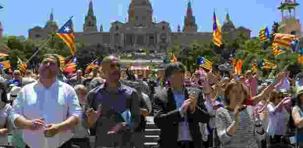 Guardiola - Catalunha - Lluis Gene/AFP - Lluis Gene/AFP