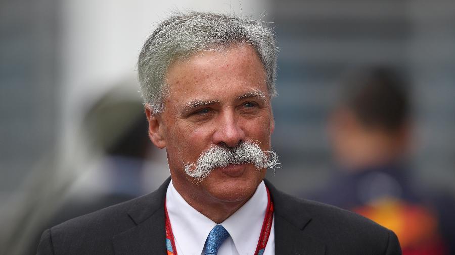 Chase Carey, diretor-geral da Fórmula 1; ele deve se aposentar neste ano - Clive Mason/Getty Images