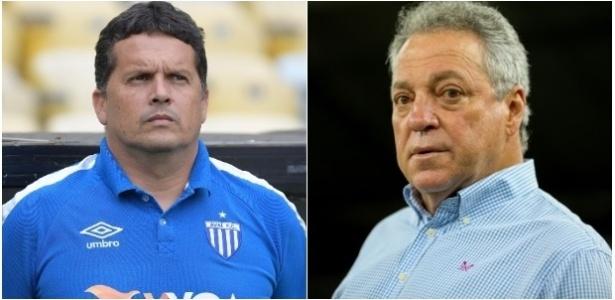 Claudinei Oliveira e Abel Braga travam duelo à parte na Copa do Brasil