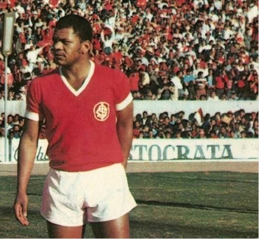 Claudiomiro, autor do primeiro gol do Beira-Roo pelo Internacional