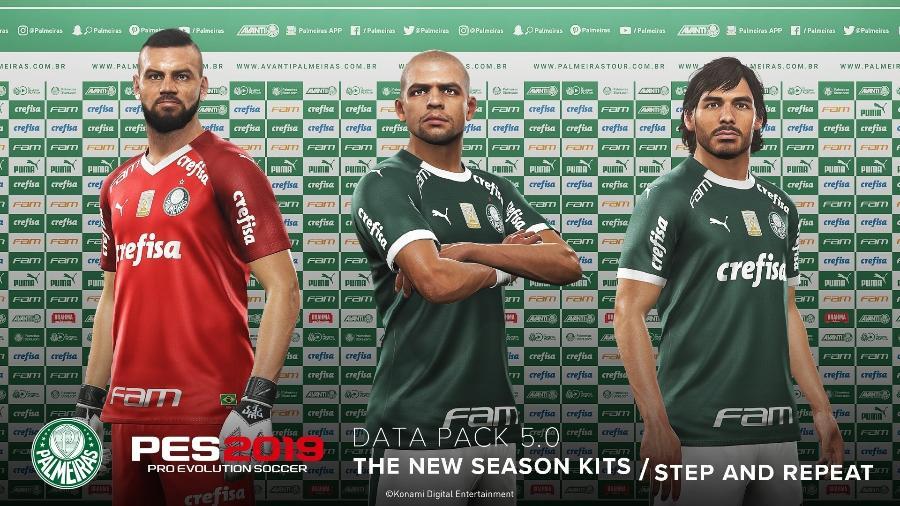 c07ae3647fb4c Palmeiras agora passa a usar o uniforme da Puma no jogo Imagem: Divulgação