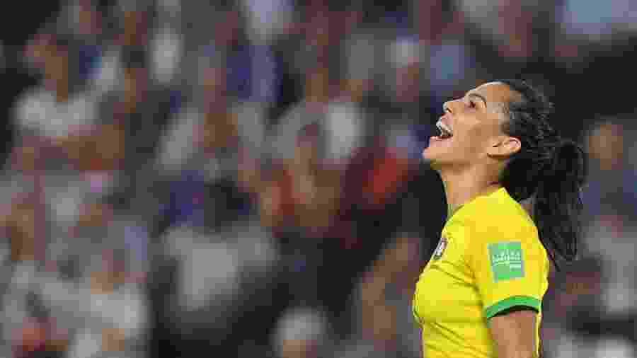 """Seleção brasileira feminina pode """"jogar em casa"""" a Copa do Mundo de 2023 - Loic Venance/AFP"""