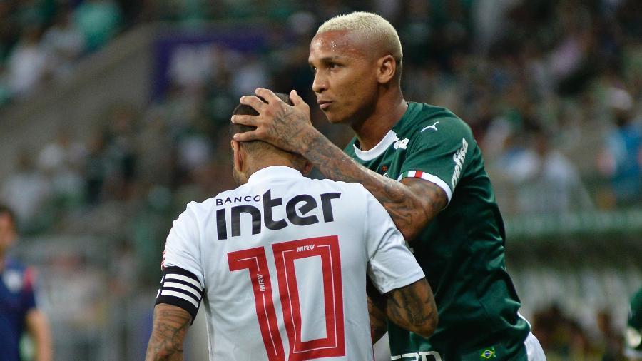 Deyverson está fora dos planos do Palmeiras para 2020 - Bruno Ulivieri/AGIF
