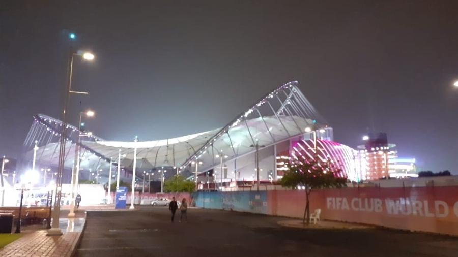Estádio Khalifa, em Doha, foi o palco da final do Mundial entre Flamengo e Liverpool - Leo Burlá/UOL