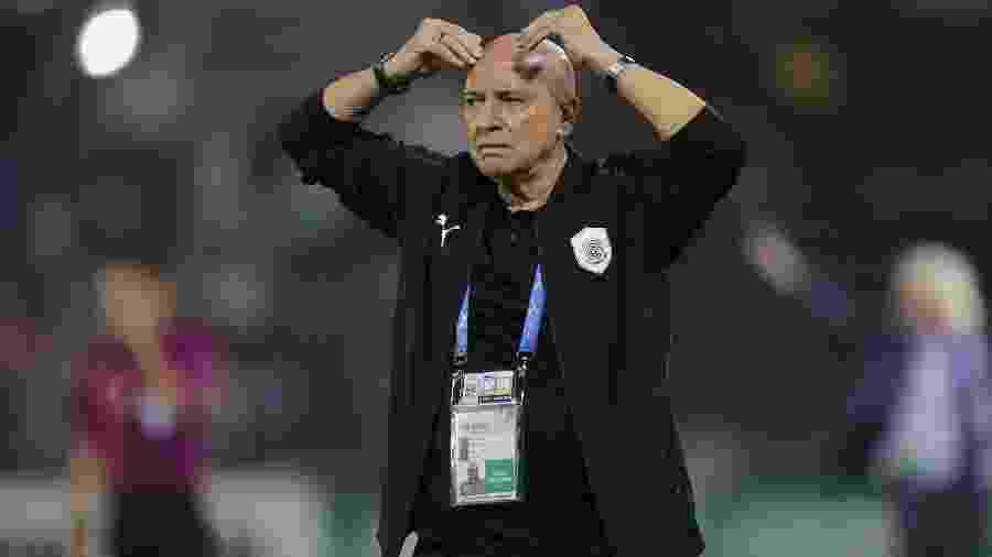 Jesualdo Ferreira, português que chega ao Santos para substituir Sampaoli - Karim Jaafar/AFP