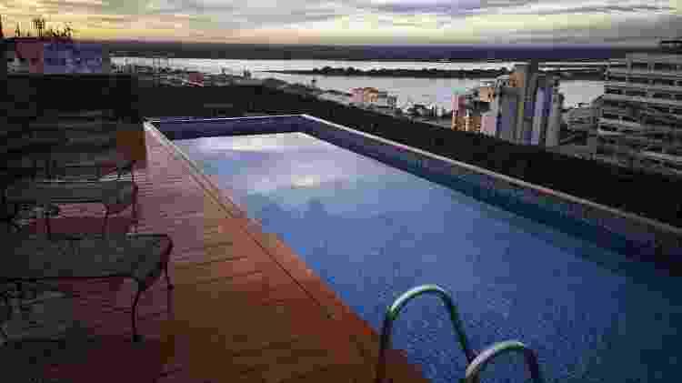 Hotel Palmaroga piscina Ronaldinho - Divulgação - Divulgação