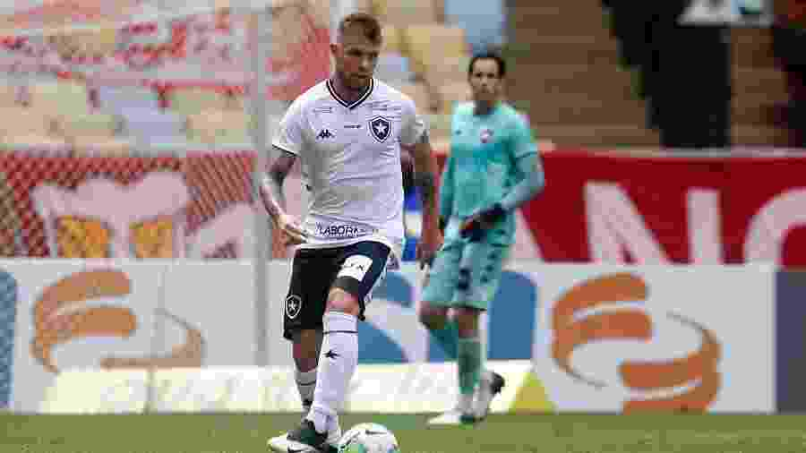 Rafael Forster, do Botafogo, foi expulso contra o Sport - Vitor Silva/Botafogo