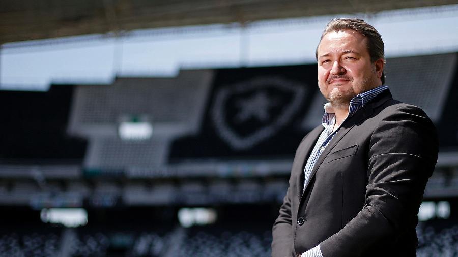 CEO Jorge Braga estabeleceu novas medidas no departamento de futebol e gerou insatisfação no departamento  - Vitor Silva/Botafogo