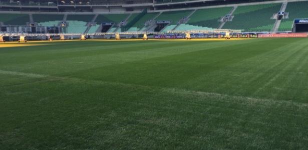 Gramado terá um tempo maior para ser tratado antes do próximo compromisso do Palmeiras