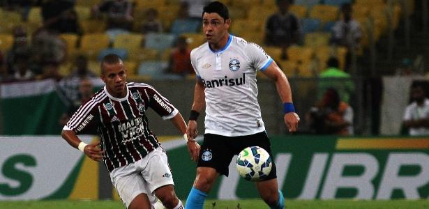 Giuliano está confirmado no time do Grêmio que pega o San Lorenzo nesta terça - Nelson Perez/Fluminense FC