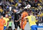 Holanda tem gol anulado no fim e empata com a Suécia nas Eliminatórias - Jonathan Nackstrand/AFP