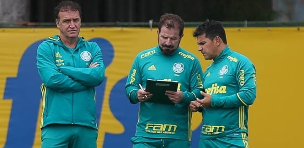 Cuca, Cuquinha e Eudes Pedro iniciam a última semana de trabalho no Palmeiras