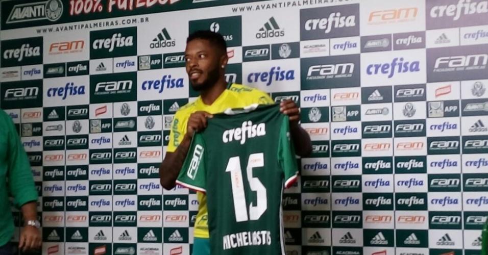 Michel Bastos Palmeiras apresentação