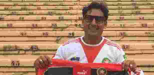 Taoufik, que jogou no Raja Casablanca - José Eduardo Martins/UOL