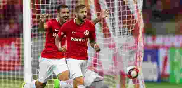 Nico Lopez ainda não deslanchou no Internacional e não é titular absoluto - Jeferson Guareze/AGIF