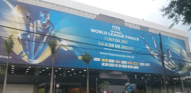 Arena está alugada para a Liga Mundial de Vôlei e Atlético busca alternativas